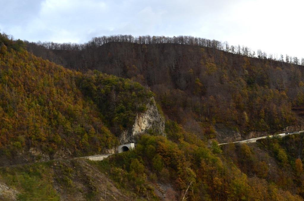 каньон Морачи Черногория дорога