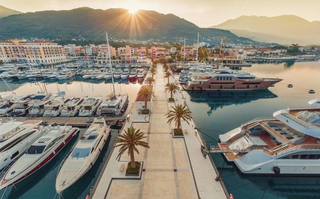 Porto Montenegro черногория