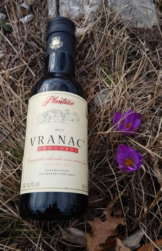 вино Вранац Черногория
