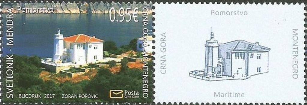 почтовые марки Черногории