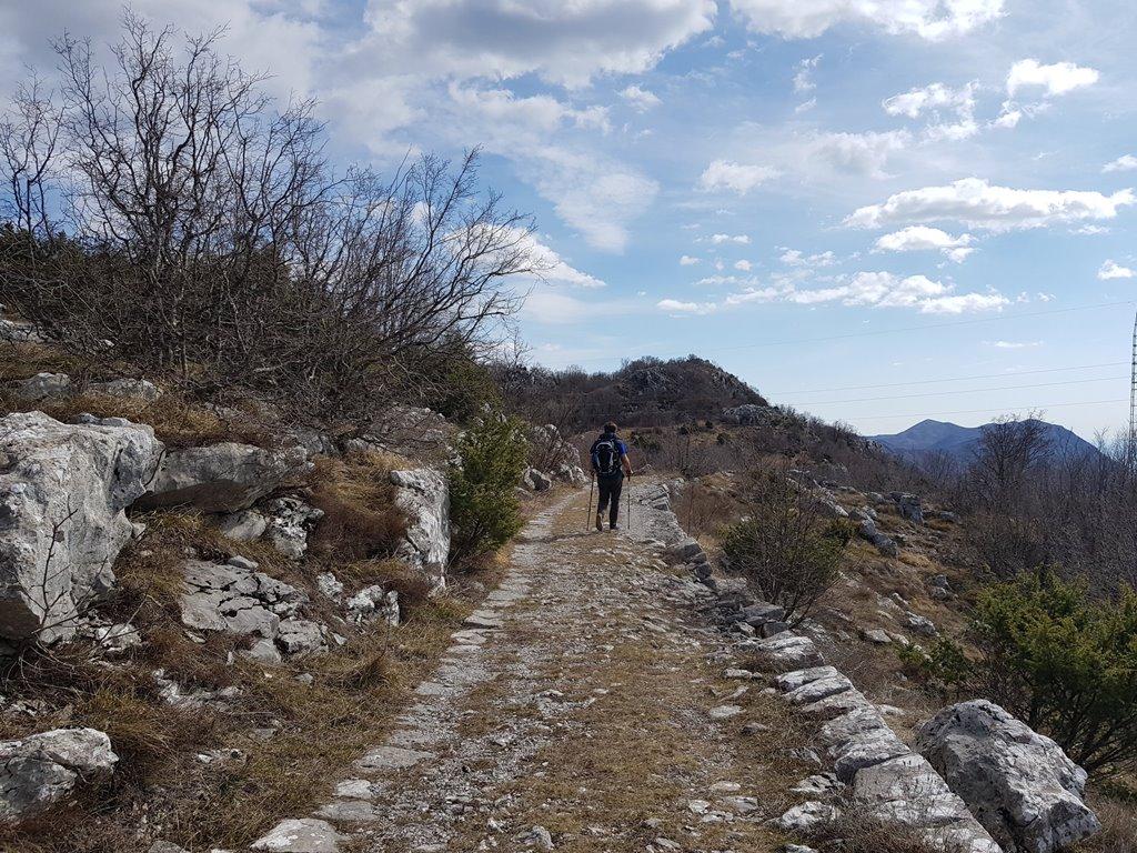пешие маршруты в Черногории - Космач - Святой Стефан