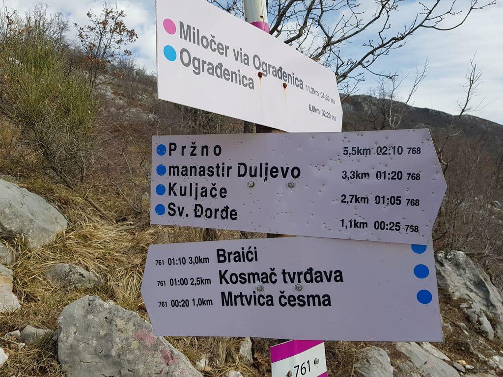 тропы черногории