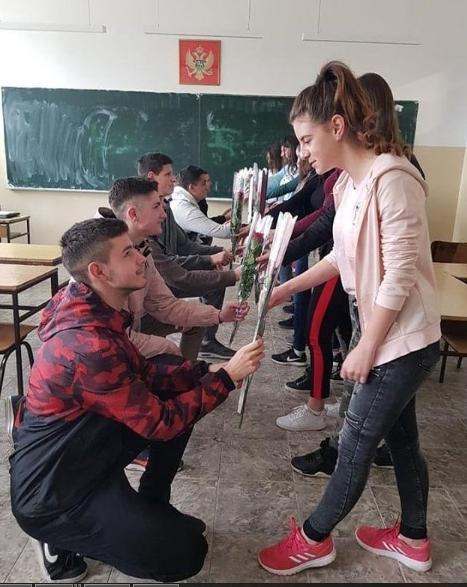 8 марта в Черногории