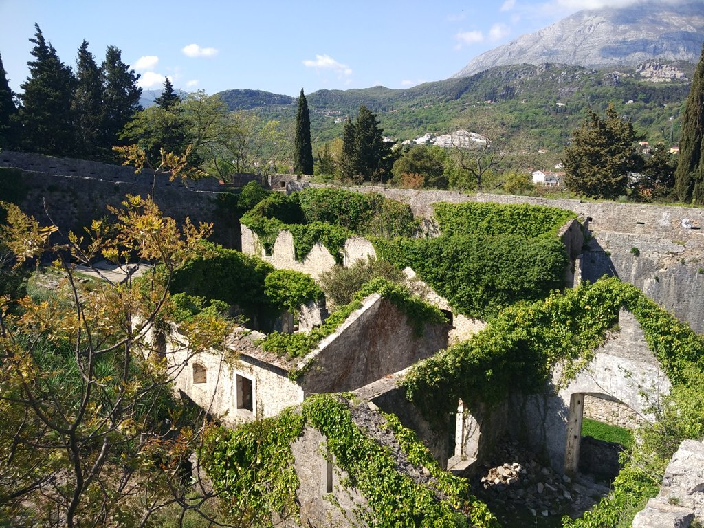 крепость Шпаньола Херцег-Нови