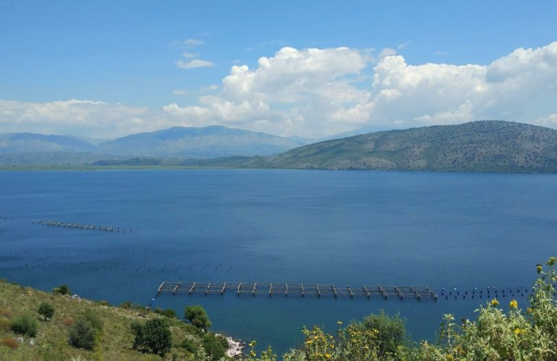 озеро Бутринт Албания