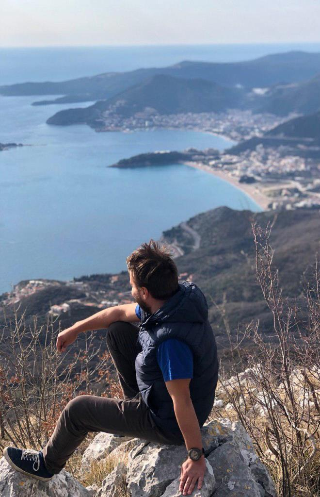 панорама на Будванскую ривьеру