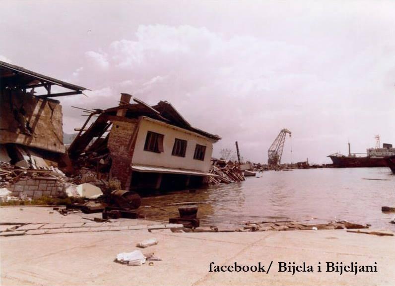 Биела, землетрясение в Черногории 1979