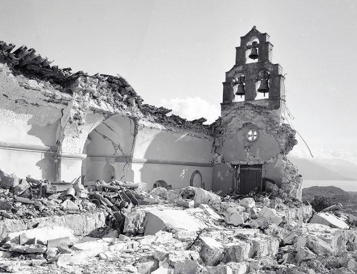 землетрясение в Черногории 1979