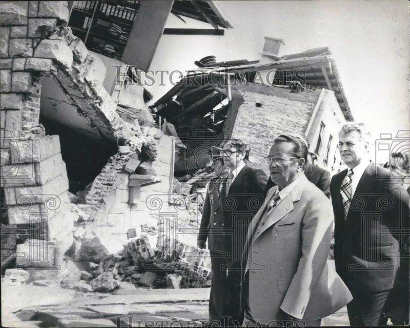 Тито, Будва землетрясение 1979