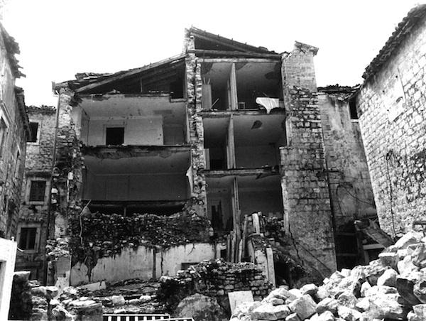 старый город Будвы землетрясение 1979