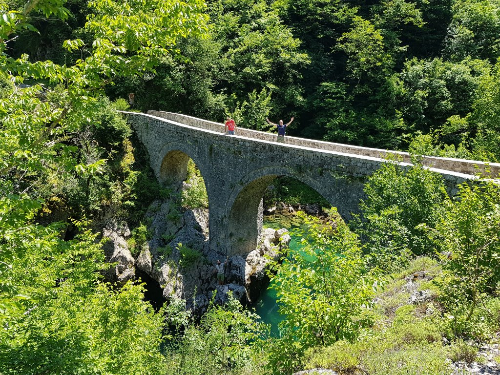 Данилов мост на реке Мртвица