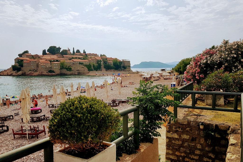 пляж у святого стефана черногория