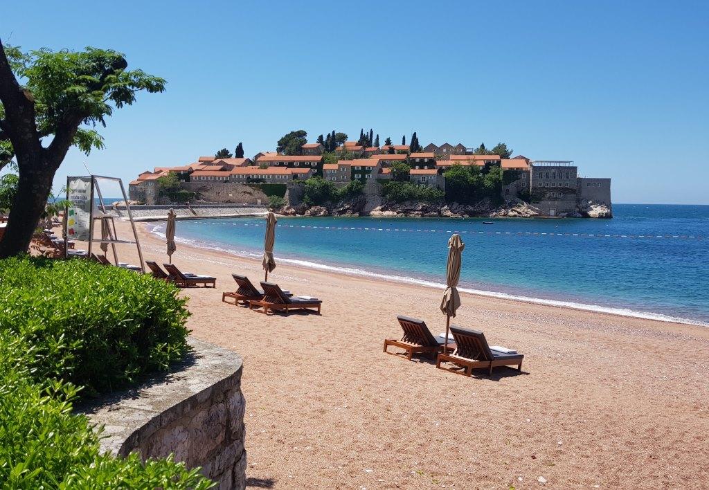 история отеля острова Святой Стефан Черногория