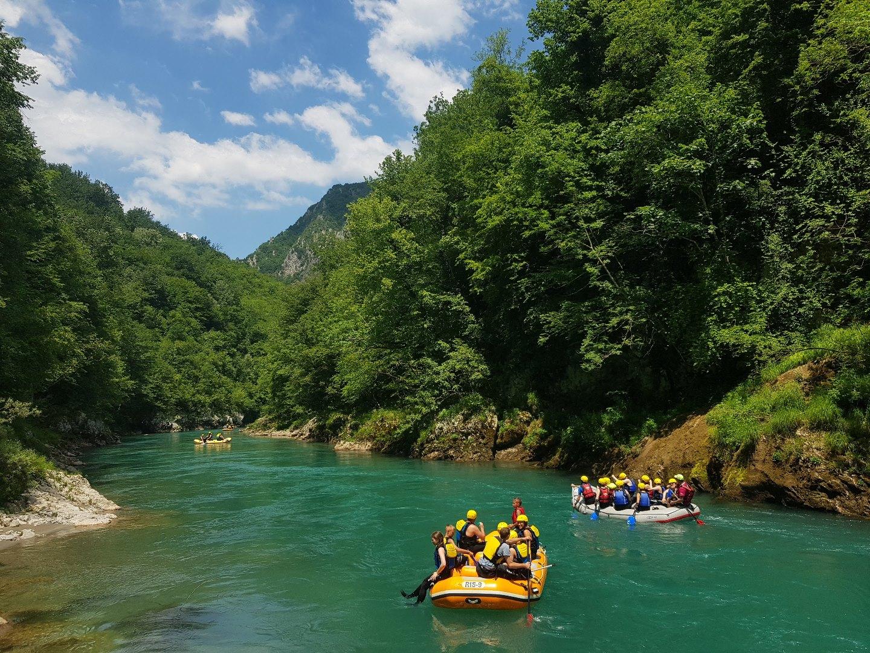 Эксурсия Рафтинг в Черногории