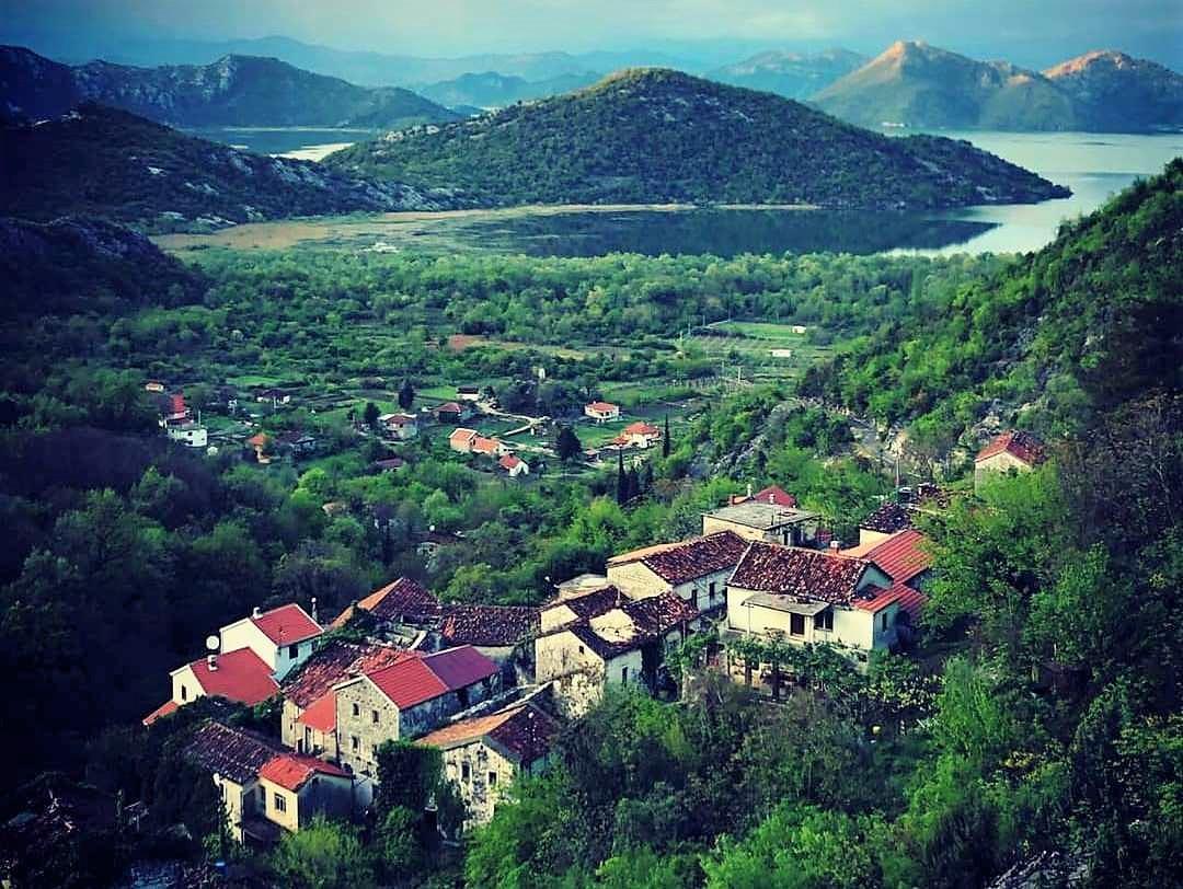 черногорская деревня Годинье