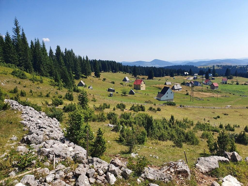 горняя деревня Босача, Дурмитор
