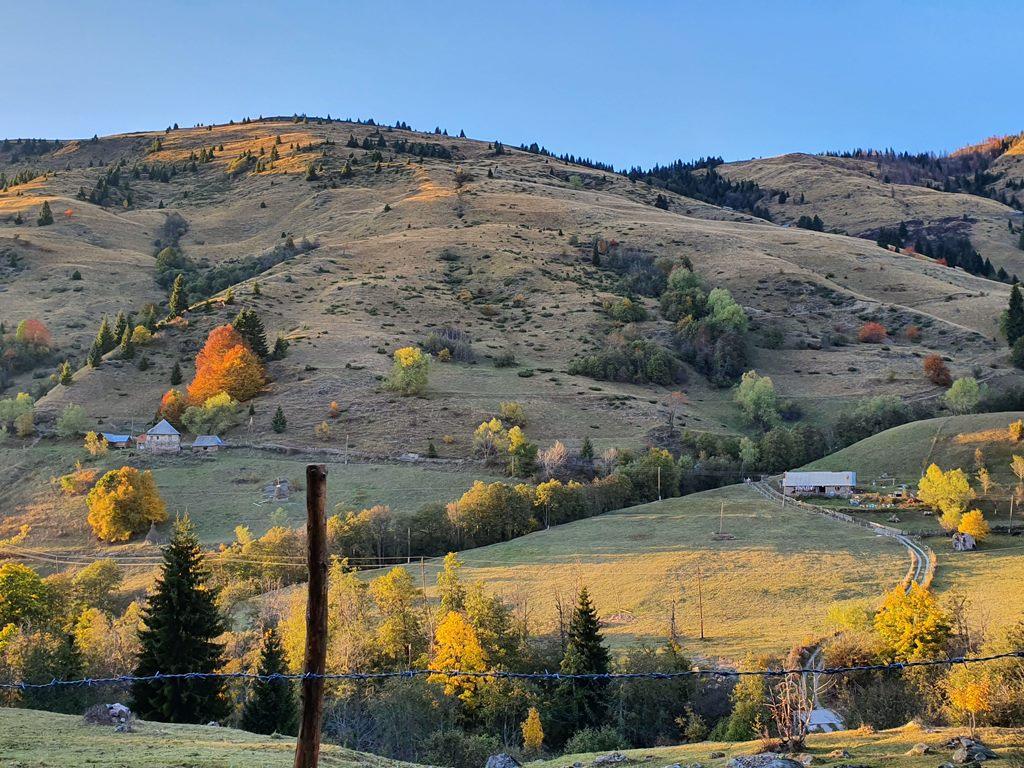 горная деревня в Черногории