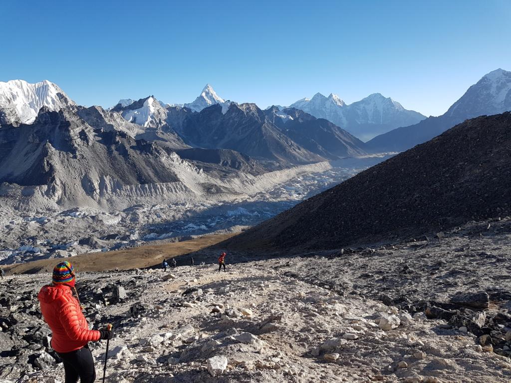 ледник Кхмбу непал
