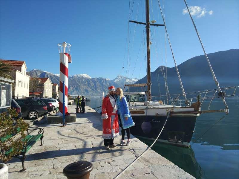 Новый год в Черногории