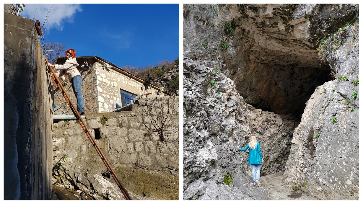 пещера в Рисане
