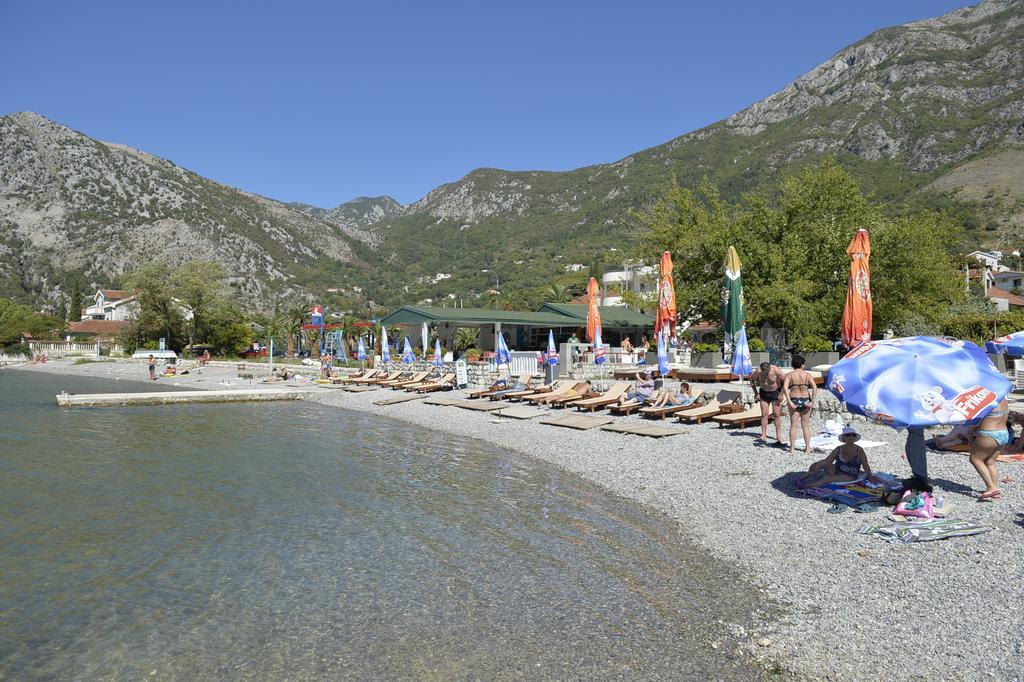 рисан Черногория пляж
